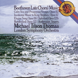Cover image for Beethoven: Late Choral Music