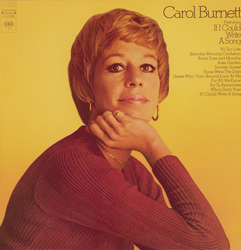 Cover image for Carol Burnett Featuring If I Could Write A Song