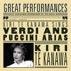 Cover image for Kiri Te Kanawa sings Puccini and Verdi