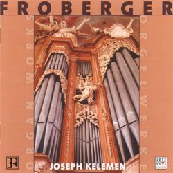 Cover image for Froberger: Organ Works