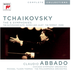 Cover image for Tchaikovsky: Complete Symphonies; 1812 Overture, March Slave; Romeo and Juliet Concert Overture; Nut