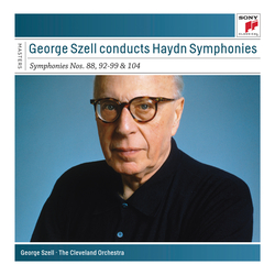 Cover image for Szell Conducts Haydn Symphonies - Sony Classical Masters