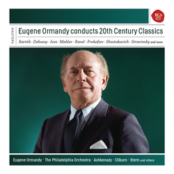 Cover image for Eugene Ormandy conducts 20th Century Classics