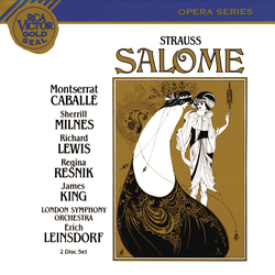 Cover image for Strauss: Salome - Gesamtaufnahme