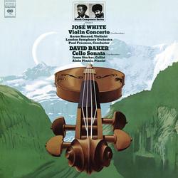 Cover image for Black Composer Series, Vol. 6: José White & David Baker (Remastered)