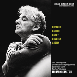Cover image for Copland: Danzón Cubano - Carter: Concerto for Orchestra - Works by Handy, Brubeck & Austin