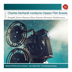 Cover image for Charles Gerhardt Conducts Classic Film Scores