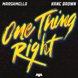 Cover image for One Thing Right