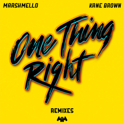 Cover image for One Thing Right (Remixes)