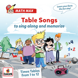 Cover image for Times Table Songs - from 1 to 12 to sing along and memorize