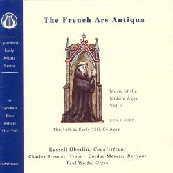 Cover image for Music of the Middle Ages, Vol 7: The French Ars Antiqua (13th Century)
