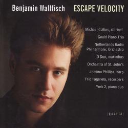 Cover image for Benjamin Wallfisch - Escape Velocity