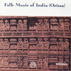 Cover image for Folk Music Of India (Orissa)