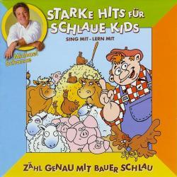 Cover image for Starke hits für schlaue Kids: Zähl genau mit Bauer schlau