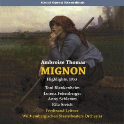 Cover image for Thomas: Mignon (1951)