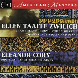 Cover image for Music of Ellen Taaffe Zwilich & Eleanor Cory