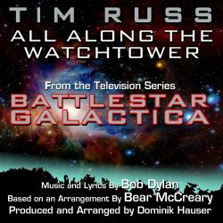 "Cover image for All Along The Watchtower - from an arrangement heard in ""Battlestar Galactica"" (Bob Dylan, Bear McCreary)"
