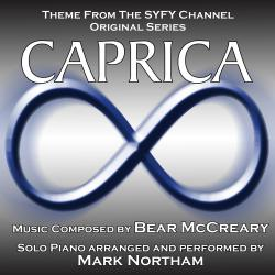 Cover image for Caprica - Main Theme for Solo Piano (Bear McCreary) Single