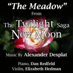 Cover image for The Meadow - From ''The Twilight Saga: New Moon'' for Piano and Violin (Alexandre Desplat) (Single)