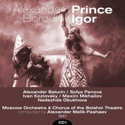 Cover image for Alexander Borodin : Prince Igor (1941), Volume 1