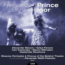Cover image for Alexander Borodin : Prince Igor (1941), Volume 2