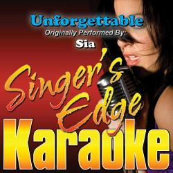 Cover image for Unforgettable (Originally Performed by Sia) [Instrumental]