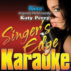 Cover image for Rise (Originally Performed by Katy Perry) [Karaoke Version]