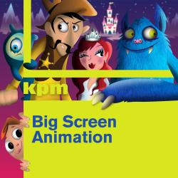 Cover image for Big Screen: Animation
