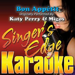 Cover image for Bon Appétit (Originally Performed by Katy Perry & Migos) [Karaoke Version]