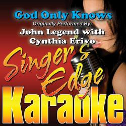 Cover image for God Only Knows (Originally Performed by John Legend with Cynthia Erivo) [Instrumental]
