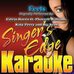 Cover image for Feels (Originally Performed by Calvin Harris, Pharrell Williams, Katy Perry & Big Sean) [Karaoke Version]