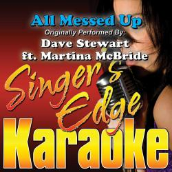 Cover image for All Messed Up (Originally Performed by Dave Stewart & Martina Mcbride) [Karaoke Version]