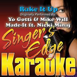 Cover image for Rake It Up (Originally Performed by Yo Gotti & Mike Will Made-It, Nicki Minaj) [Karaoke Version]