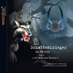 Cover image for Sacred - Der Schattenkrieger - Folge 3 - Im Bann Der Bestie