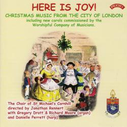 Cover image for Here Is Joy! Christmas Music from the City of London