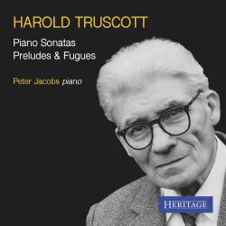 Cover image for Harold Truscott: Piano Sonatas