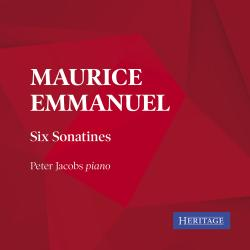 Cover image for Maurice Emmanuel: Six Sonatines