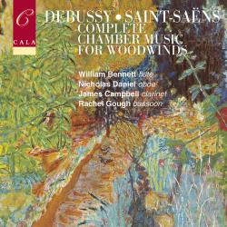 Cover image for French Chamber Music for Woodwinds, Volume One: Debussy and Saint-Saëns