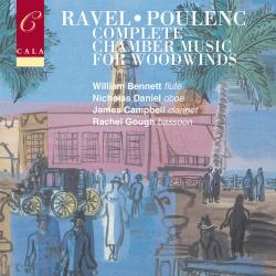 Cover image for French Chamber Music for Woodwinds Volume Two: Ravel & Poulenc