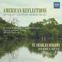 Cover image for American Reflections - 20th and 21st Century Choral Music