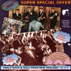 Cover image for Early Rock & Roll from New Zealand, Vol. 13 & 14