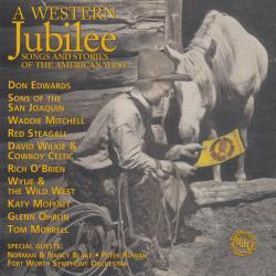 Cover image for A Western Jubilee: Songs and Stories of the American West