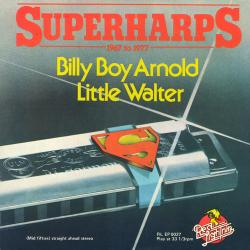 Cover image for Superharps