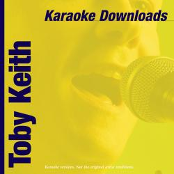 Cover image for Karaoke Downloads – Toby Keith