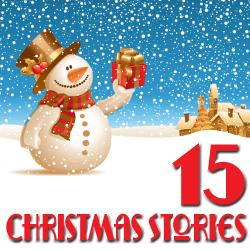 Cover image for 15 Christmas Stories