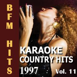 Cover image for Karaoke: Country Hits 1997, Vol. 11