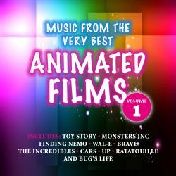 Cover image for Music from the Very Best Animated Films, Volume 1