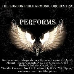 Cover image for The London Philharmonic Orchestra Performs