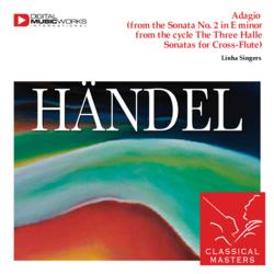 Cover image for Adagio (from the Sonata No. 2 in E minor from the cycle The Three Halle Sonatas for Cross-Flute)