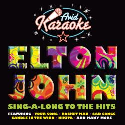 Cover image for Elton John Karaoke